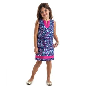 Vineyard Vines Girls School Of Whales Shift Dress